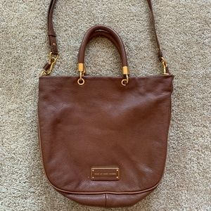 Marc by Marc Jacobs Brown Leather Medium Size Bag